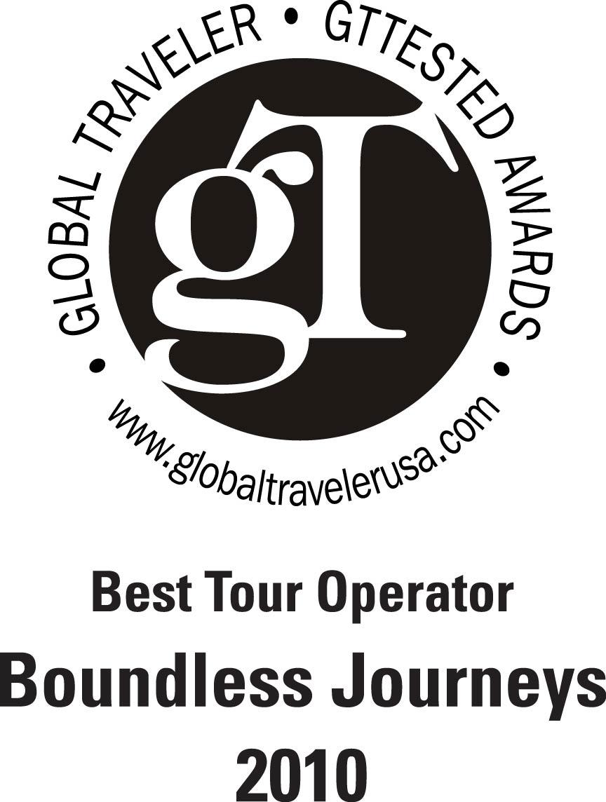 Global Traveler - Best Tour Operator in the World - 2010