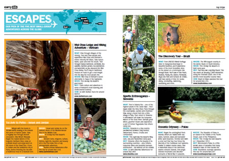 "Get Lost Magazine ""Five Best Small-Group Adventure"""