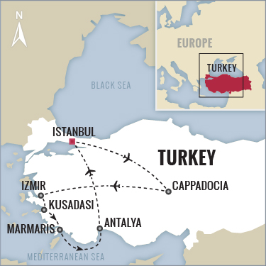 Turkey Turquoise Coast Cruise with Boundless Journeys