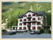Tour du Mont Blanc - Hotel Beau-Sejour Finhaut, Switzerland