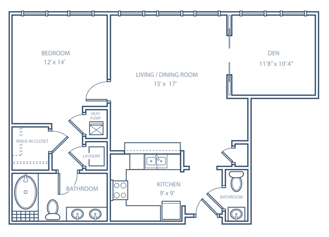 Easthaven Floor Plan