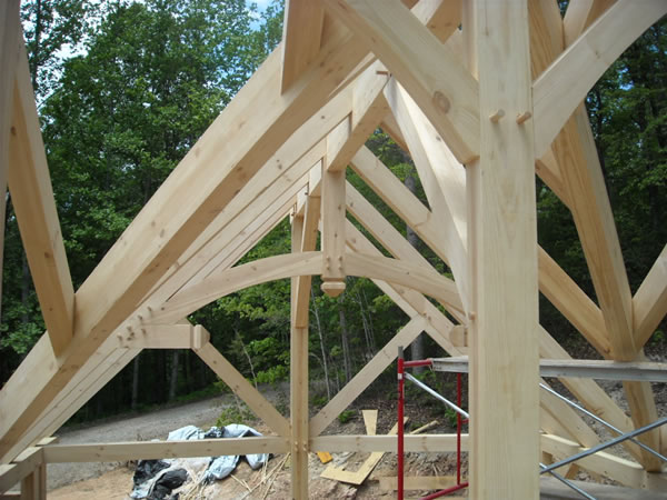 Asheville post beam homes asheville nc homes real estate for Post and beam homes cost