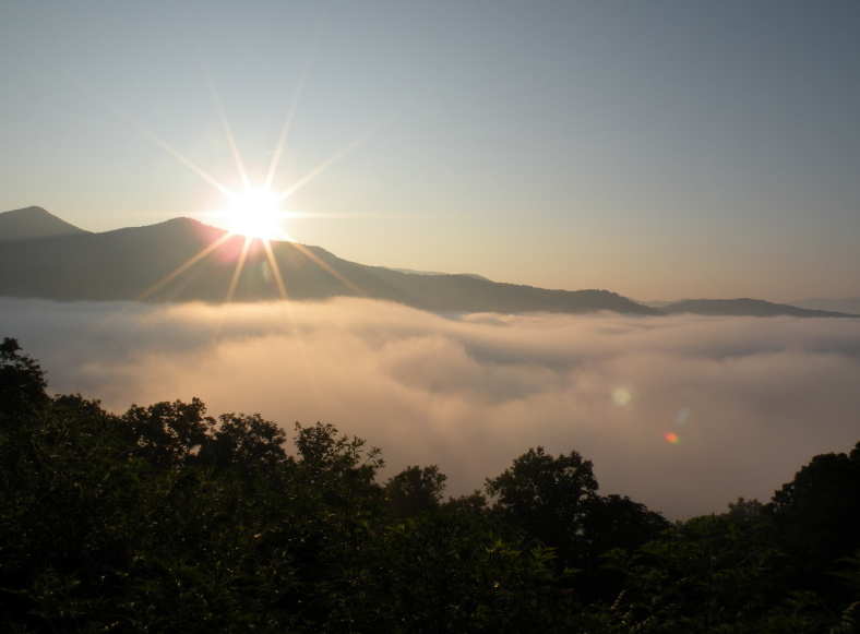 The Mountains Behind Asheville NC Real Estate