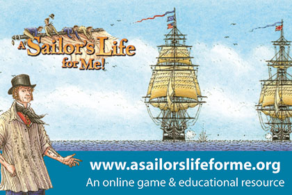 A Sailor's Life For Me! Website