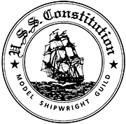 USS Constitution Model Shipwright Guild logo