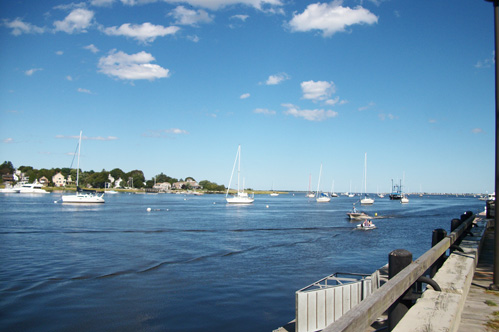 Merrimack River in Newburyport MA