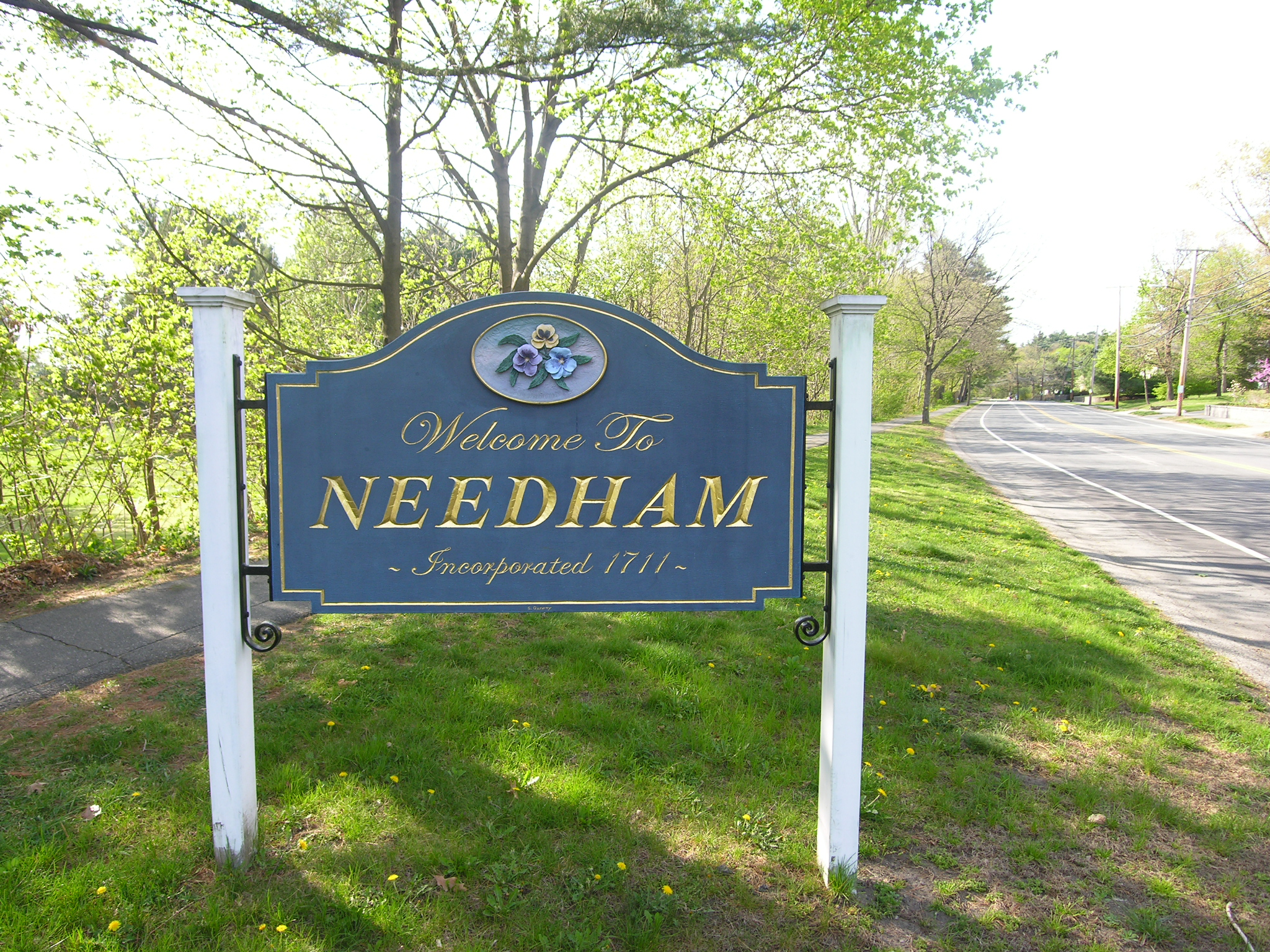 Welcome to Needham Sign