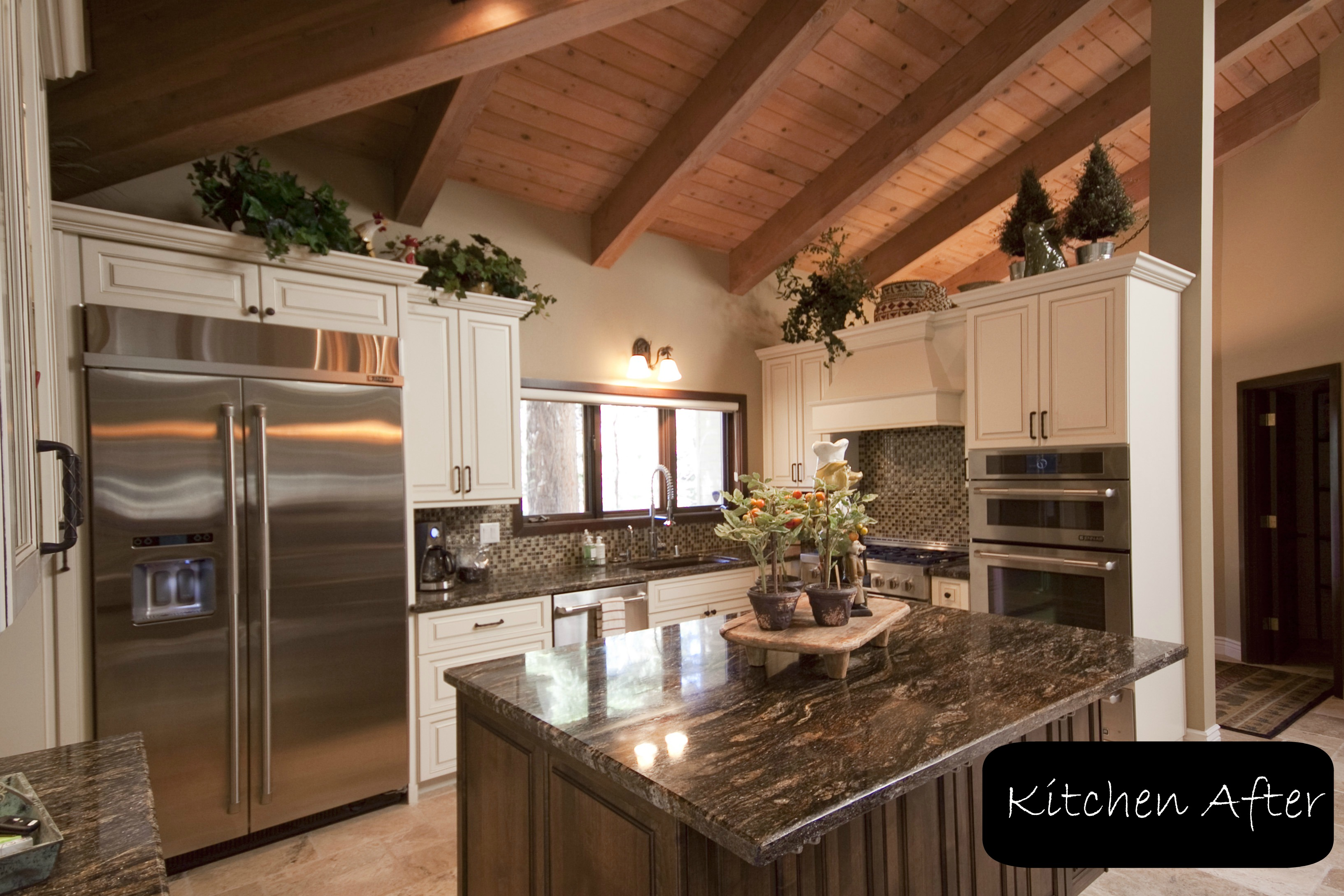 here is a great kitchen remodel transformation that demonstrates just