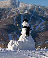 Sugarbush Mountain Snowman