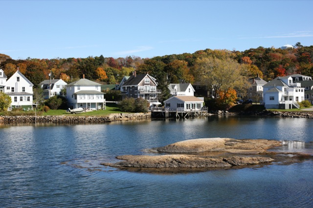 Waterfront Maine Vacation Rentals The New England Real
