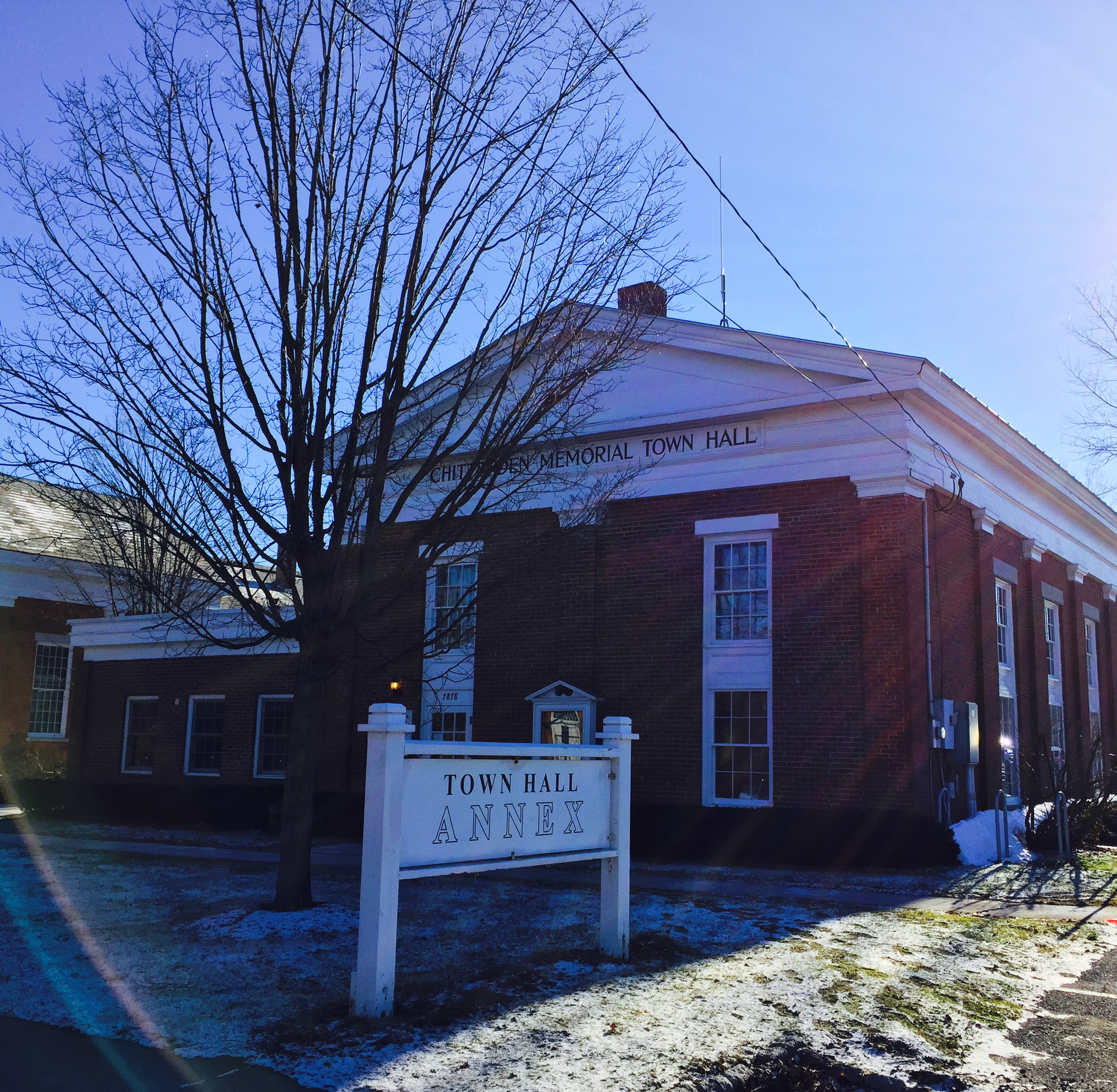Chittenden Memorial Town Hall