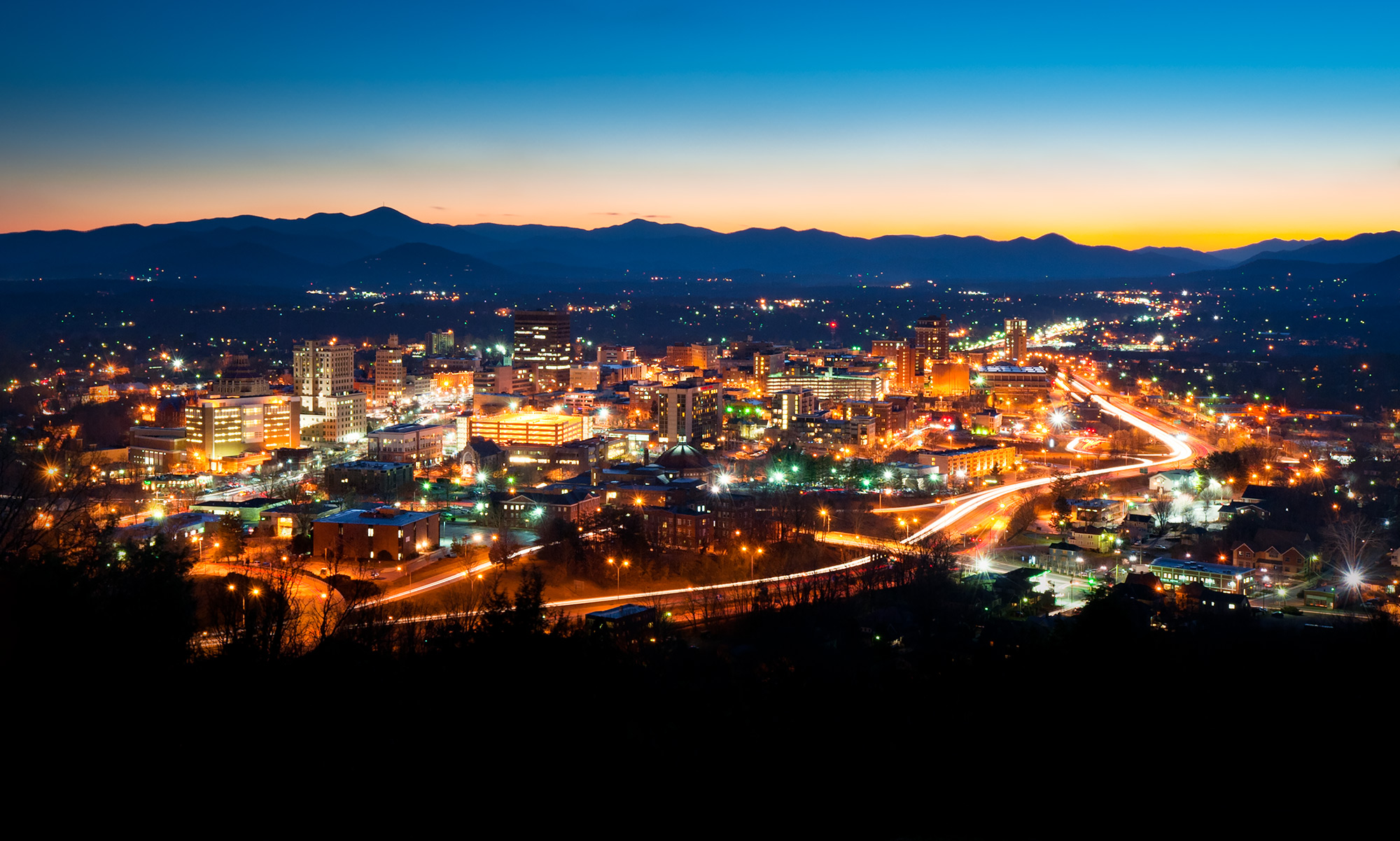 Asheville NC Town