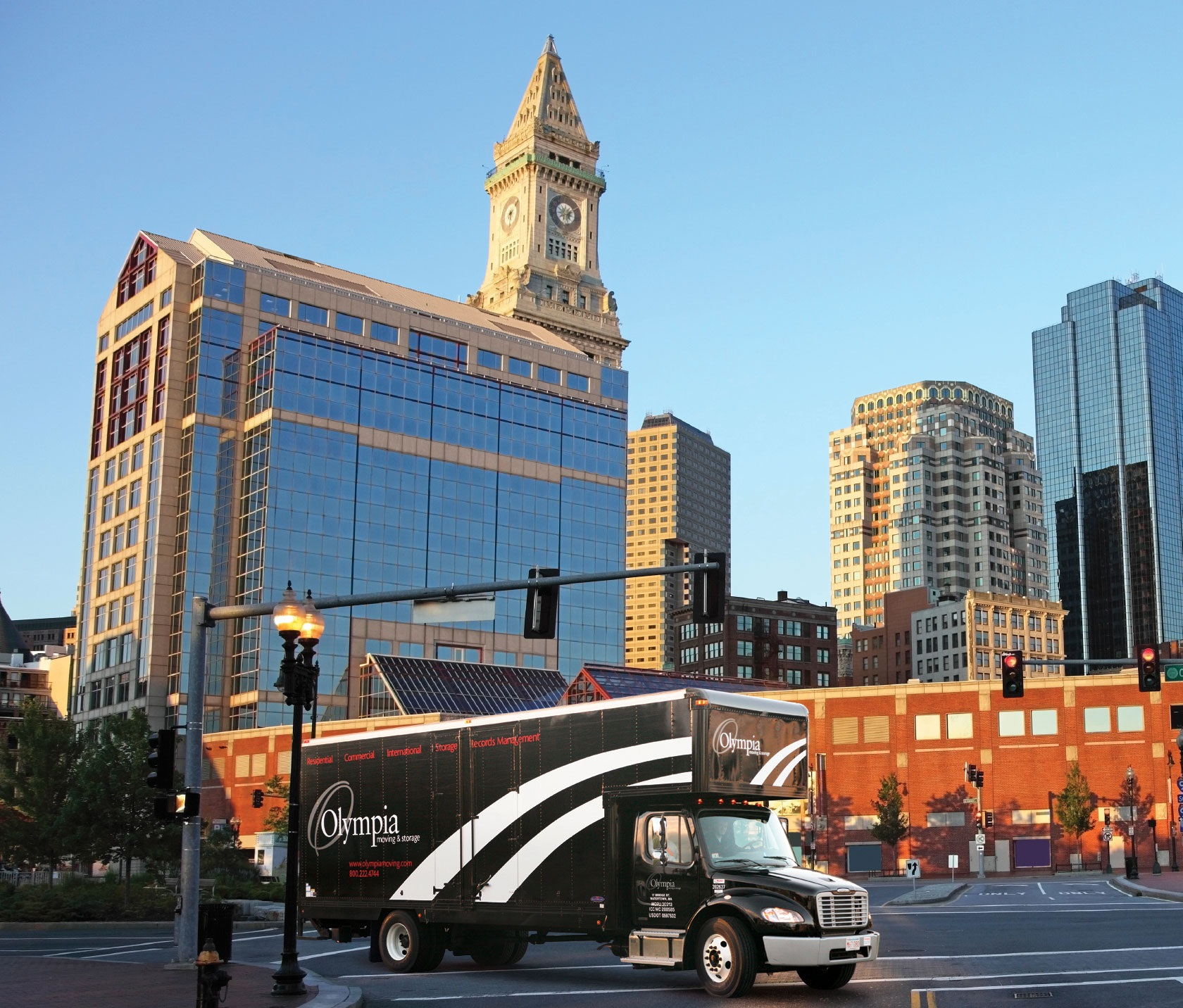 Moving in Boston on Sept. 1