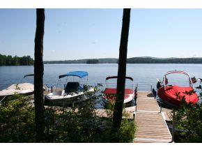 Lake Sunapee Real Estate boat dock