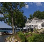 Luxury 16 Room Lake Winnipesaukee Estate , Luxury Winnipesaukee Home