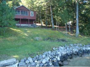 Merrymeeting lake real estate seasonal cottage