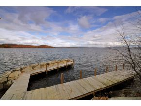 Lake Winnipesaukee Real Estate Crib dock with view - Winnipesaukee Home