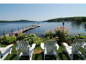LAke winnipesaukee condo with a dock for sale in meredith NH