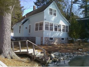 Lake Winnisquam Real Estate for sale -- Seasonal Lake Cottage on Winnisquam