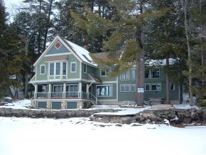 Newfound Lake Waterfront home in Bridgewater NH