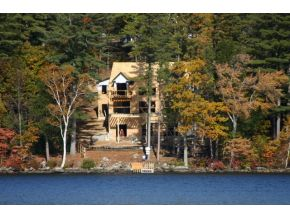 Wolfeboro Waterfront home on Lake Winnipesaukee