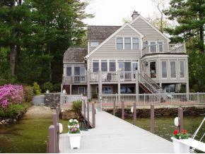 Lake Winnipesaukee Real Estate - Luxury Wolfeboro home for sale