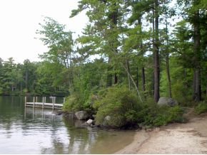 Lake Winnipesaukee lakefront lot for sale