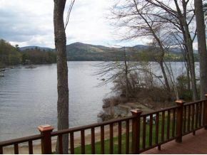 Mountain View from this Big Squam Lake property