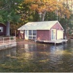 Lake Winnipesaukee Real Estate for sale - Meredith Lake home with boathouse