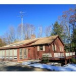 Home for sale on a trout pond in central nh - waterfront pond real estate nh