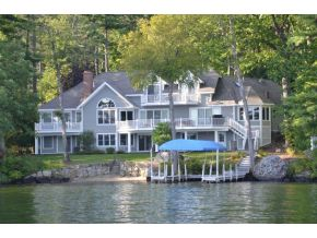 Lake Winnipesaukee Real Estate - Governors Island Home for sale in Gilford NH