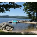 Pleasant Lake New London NH - luxury lake home for sale