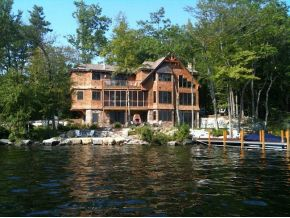 Lake Winnipesaukee Real Estate, Alton NH luxury lakefront home for sale