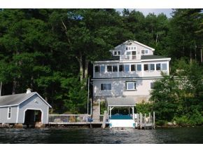 Lake Winnipesaukee home for sale in Meredith Bay - Boathouse