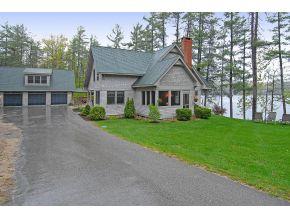 Pine River Pond Adirondack home for sale - NH lake real estate