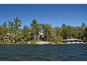 Private Winnipesaukee Luxury Estate with over 2000 feet of shoreline on 58 acres