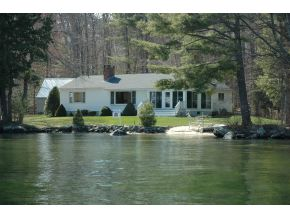 Lake Winnipesaukee Real Estate - lakefront luxury home