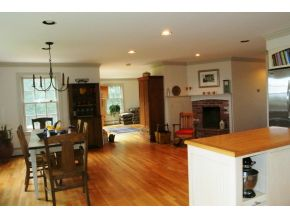 Gourmet Kitchen with fireplace - plus views