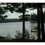 Wooded Private 10 acre lot with 625 feet of shoreline