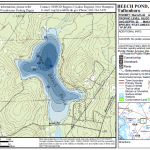 lower beech pond lake map