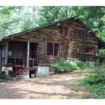 Log home Silver Lake