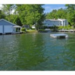 2 bay boat house with over 12 acres of land