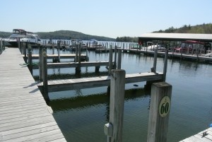 Purchase a Dock on the Lake of your Choice is Step 1.