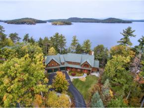Luxury lake winnipesaukee adirondack