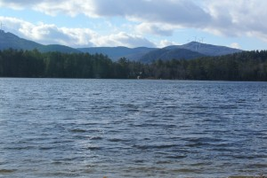 Loon Lake is Quiet 100 acre lake remote but close to town and skiing