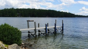 Lift Dock in need of repair