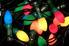Xmas strand of lights