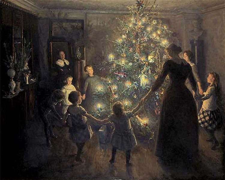 xmas tree-old time