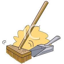 broom swept