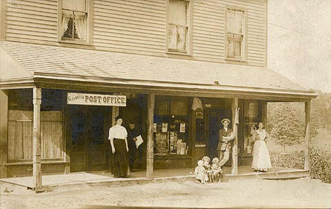 glenbrook post office-1912